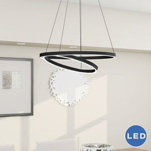 Circles LED Chandelier - Clever and Modern Home and office furniture. Pet Furniture