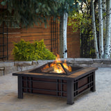Classic Wood Burning Fire pit - Clever and Modern Home and office furniture. Pet Furniture