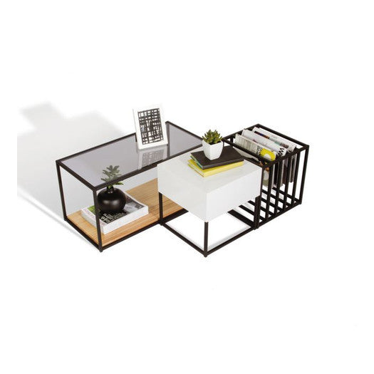C & M Modular Coffee Table (Set of 3) - Clever and Modern Home and office furniture. Pet Furniture