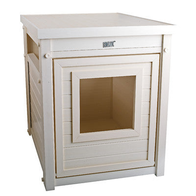 Composite Cat Litter Box End Table - Clever and Modern Home and office furniture. Pet Furniture
