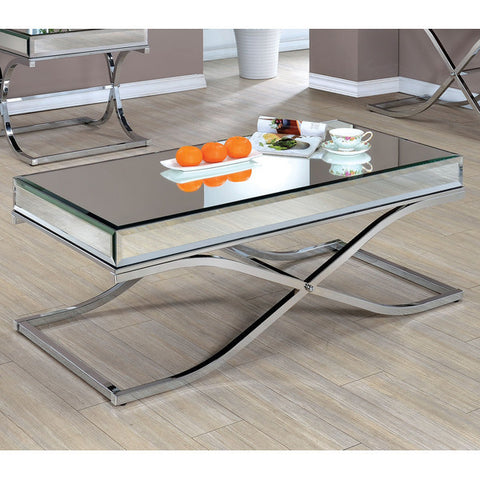 Contemporary Mirrored Coffee Table - Clever and Modern Home and office furniture. Pet Furniture