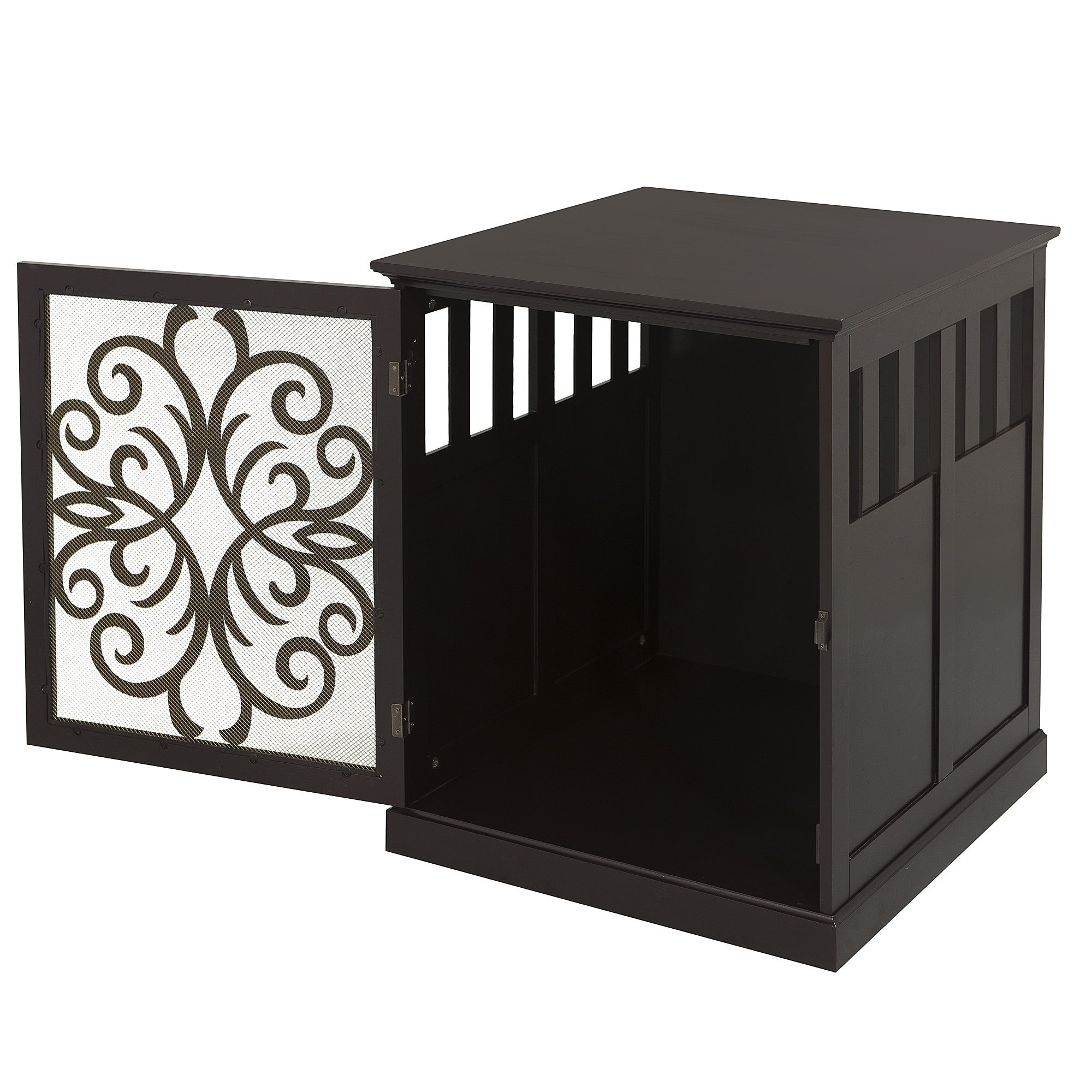 Fancy 2-in-1 Pet Crate Table - Clever and Modern Home and office furniture. Pet Furniture