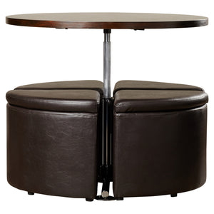 Convertible Coffee Table With Ottomans - Clever and Modern Home and office furniture. Pet Furniture