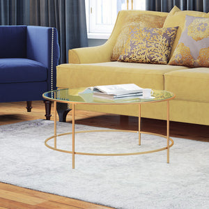 Golden Circle Coffee Table - Clever and Modern Home and office furniture. Pet Furniture