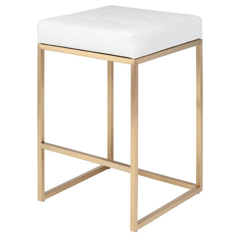 Gold Chrome Bar Stool - Clever and Modern Home and office furniture. Pet Furniture
