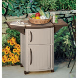 Hobbs Outdoor Cabinet Serving Station