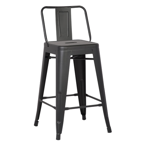 "C & M Industrial 24"" Bar Stool (Set of 2)"