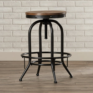 Industrial Adjustable Height Swivel Bar Stool (Set of 2) - Clever and Modern Home and office furniture. Pet Furniture