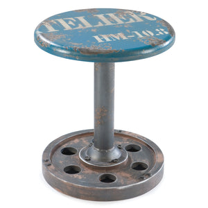 Industrial Button Bar Stool - Clever and Modern Home and office furniture. Pet Furniture