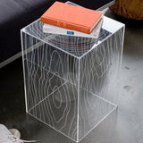 Magical Clear Table - Clever and Modern gadgets and furniture for your home and office.