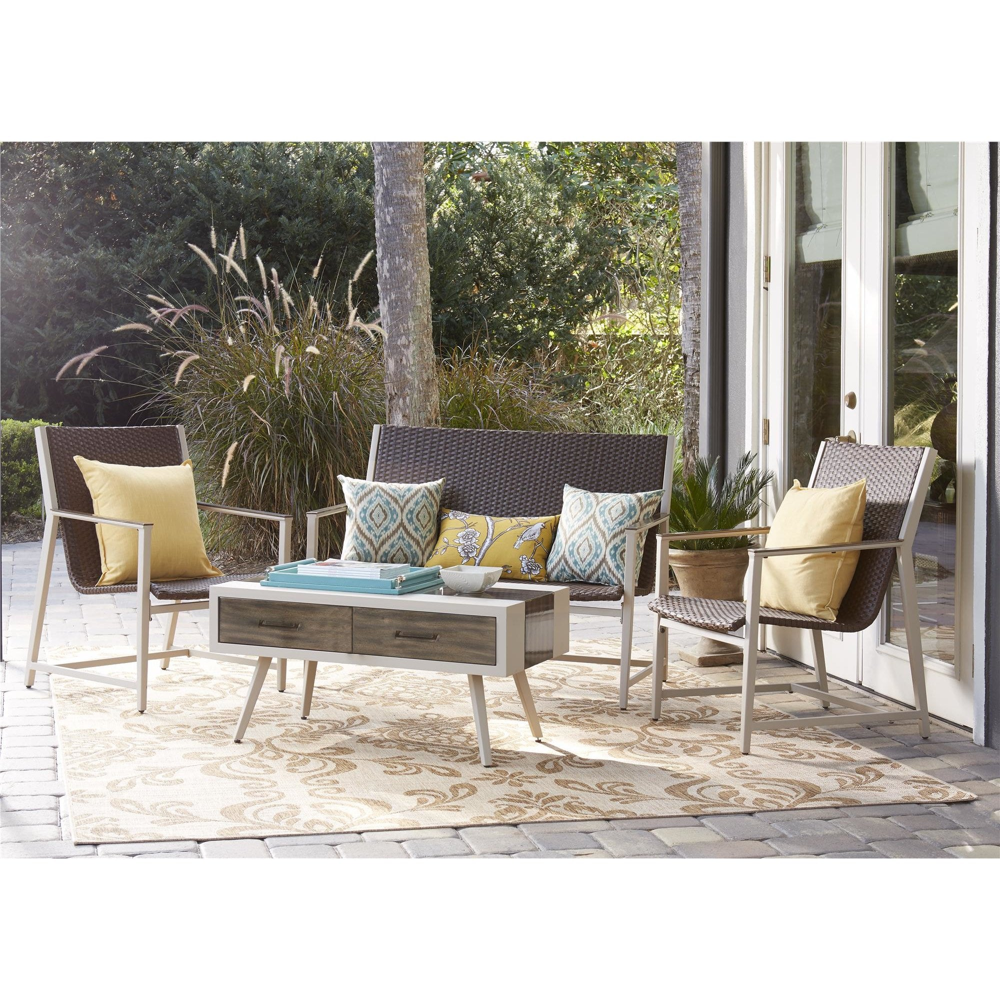 MODERN Mid-Century 4 Piece Seating Group - Clever and Modern Home and office furniture. Pet Furniture