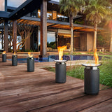 Portable Modern Gel Fire pit Column - Clever and Modern Home and office furniture. Pet Furniture