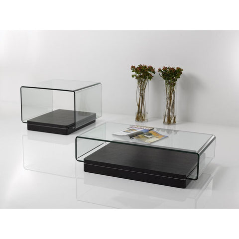 Modern Glass and Wood Coffee Table Set - Clever and Modern Home and office furniture. Pet Furniture