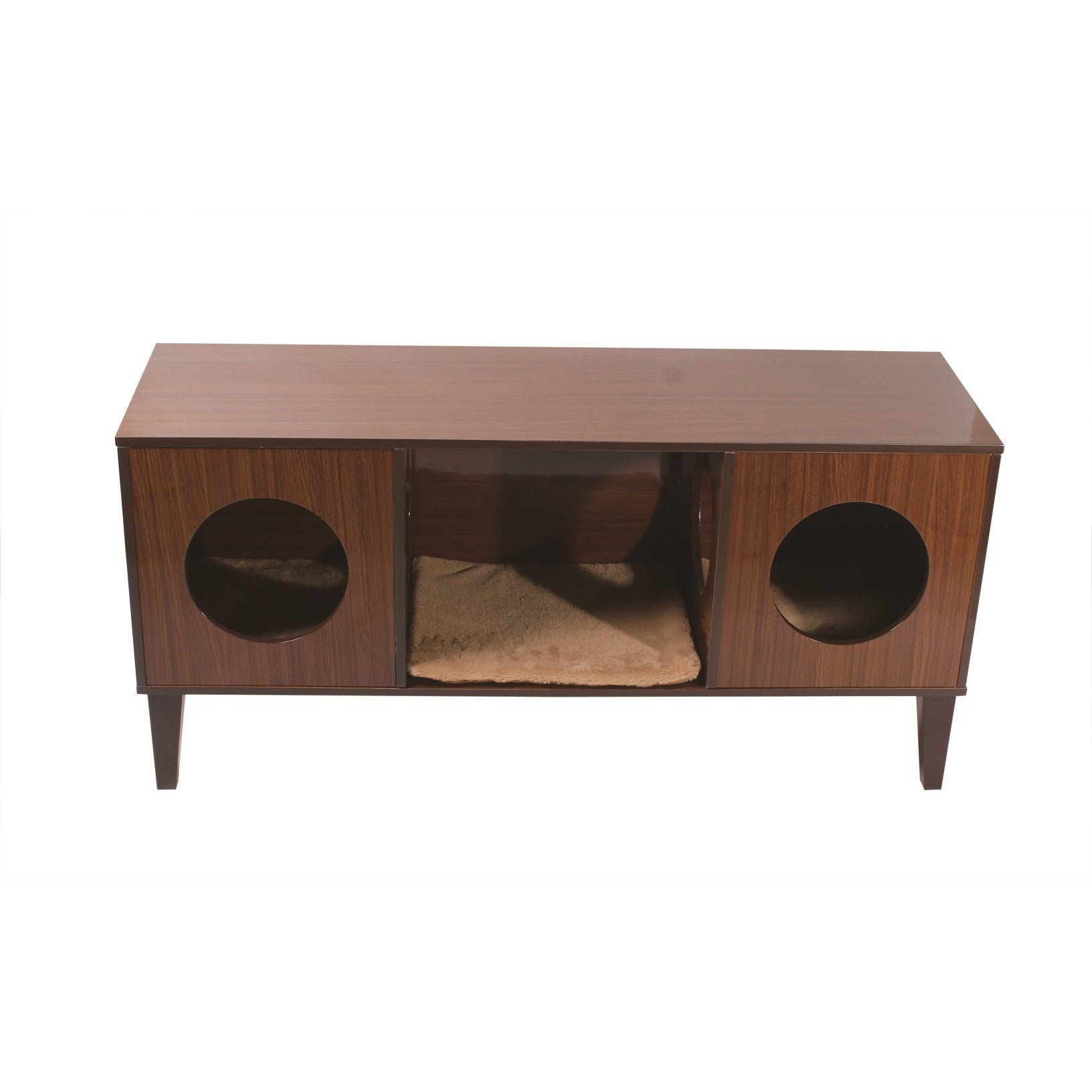Decor TV Stand with Hidden Cat Bed – Clever and Modern