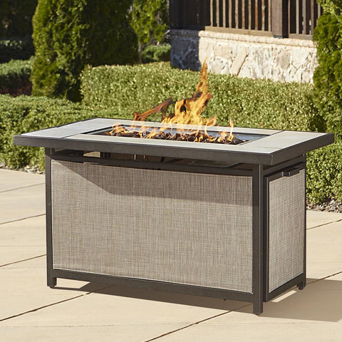 Pavilion Aluminum Propane Fire Pit Table - Clever and Modern Home and office furniture. Pet Furniture