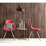 Set of 2, Red Modern Chair with wood legs - Clever and Modern gadgets and furniture for your home and office.