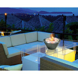 Modern Diamonds Tabletop portable gel fireplace
