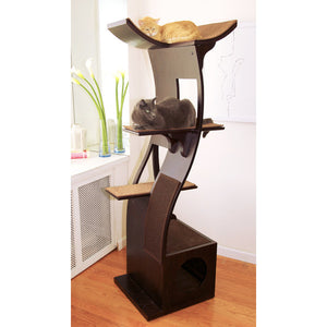 Modern Wave Cat Tree - Clever and Modern Home and office furniture. Pet Furniture