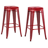 "Cubero 30"" Metal Mesh Bar Stool (Set of 4)"