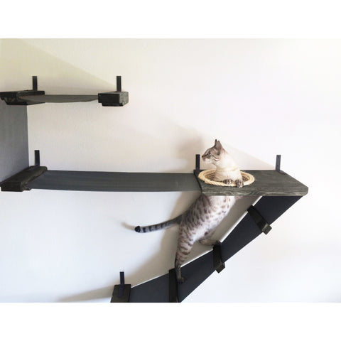 "45"" Deluxe Handcrafted Cat Perch - Clever and Modern Home and office furniture. Pet Furniture"