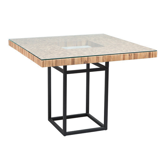 Wood And Glass Dining Table For 4 - Clever and Modern Home and office furniture. Pet Furniture