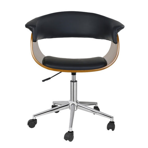 Wood And Leather Desk Chair - Clever and Modern Home and office furniture. Pet Furniture