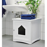 Cat House Litter Box 19.25 in. x 20 in. x 20 in