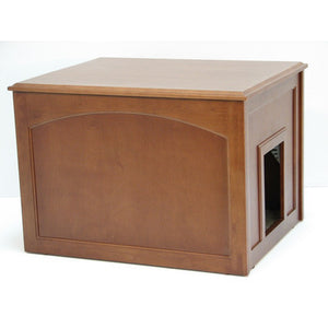 2 In 1 Cat Litter Box Cabinet   Clever And Modern Home And Office