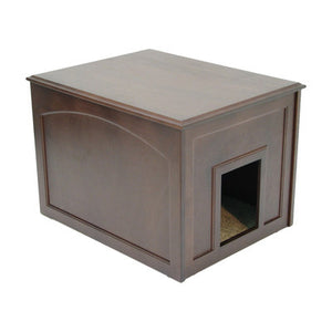 2-in-1 Cat Litter Box Cabinet - Clever and Modern Home and office furniture. Pet Furniture