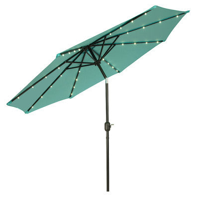 Modern Tea Illuminated LED Patio Umbrella 9ft - Clever and Modern Home and office furniture. Pet Furniture
