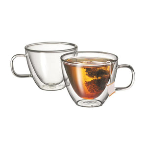 Avanti Sienna Twin Wall Glass Set - Coffea Coffee