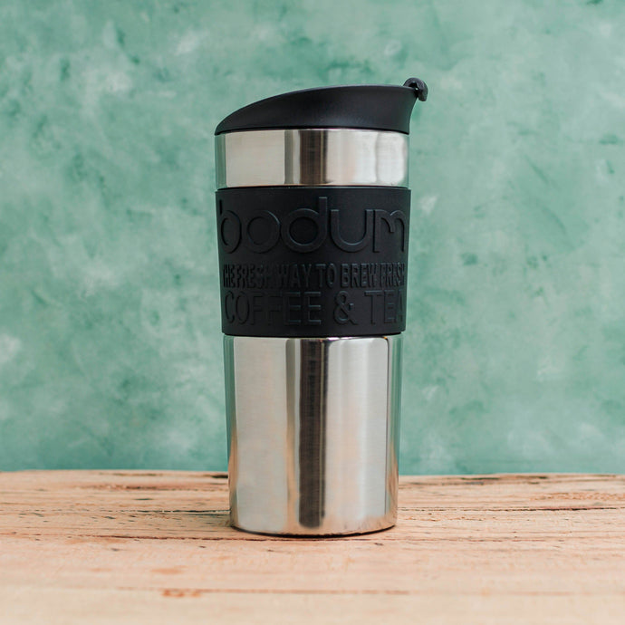 Bodum Stainless Steel Travel Press - Coffea Coffee