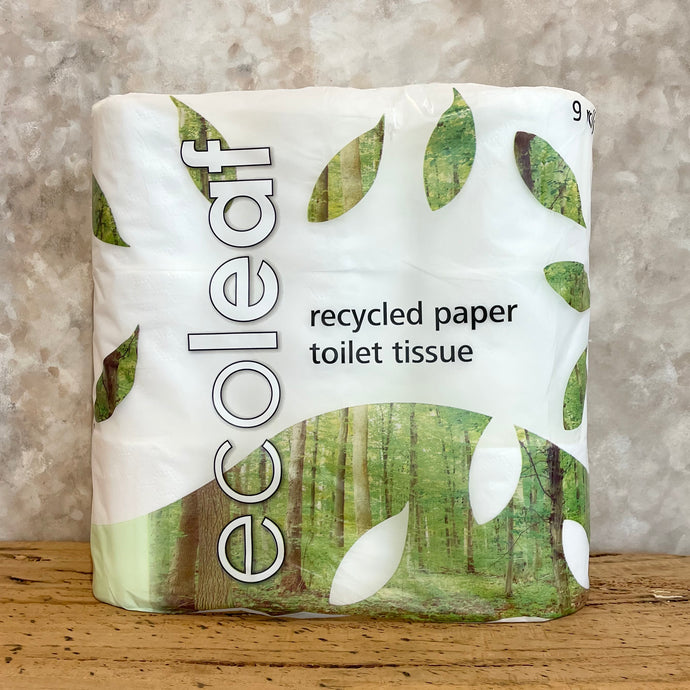 Eco Leaf Recycled Toilet Paper - Coffea Coffee