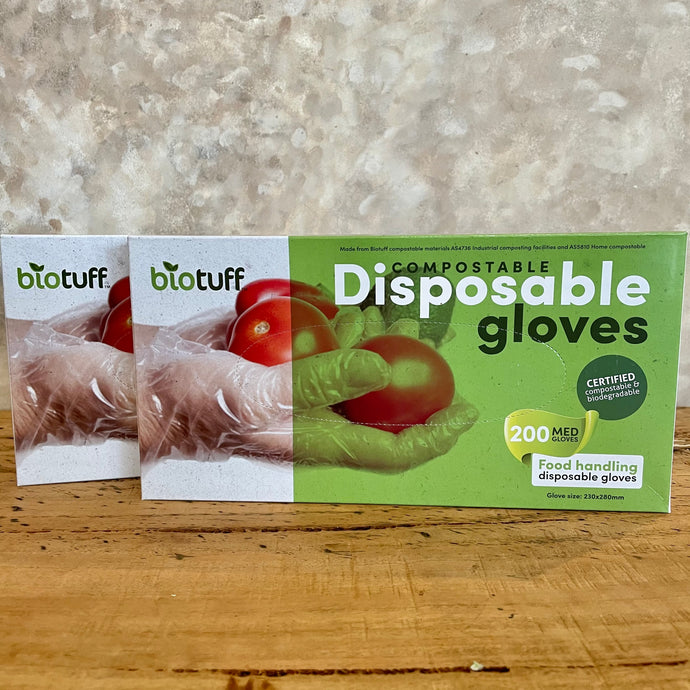 Biotuff Compostable Disposable Gloves - Coffea Coffee