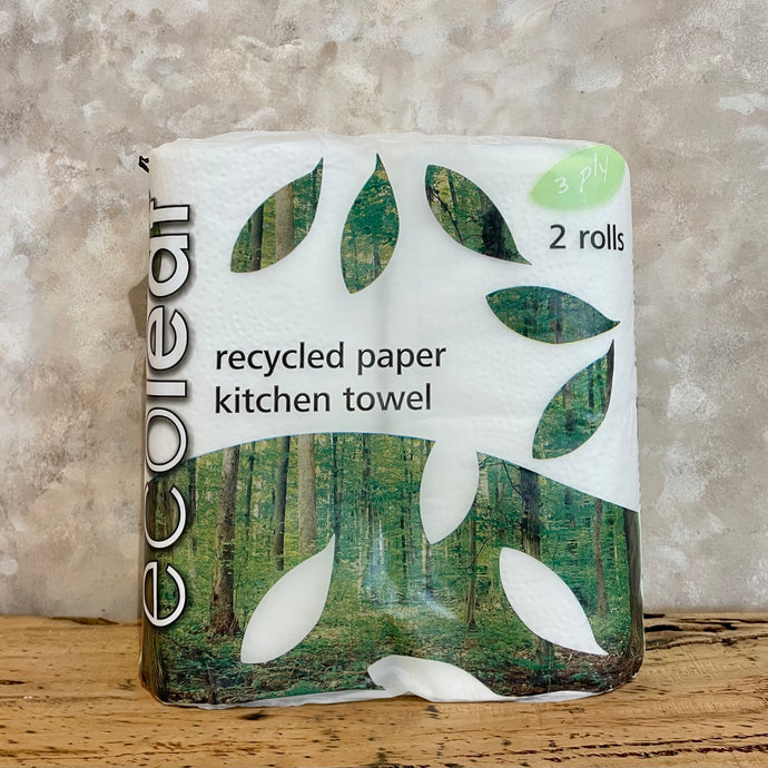 Eco Leaf Recycled Kitchen Towel - Coffea Coffee