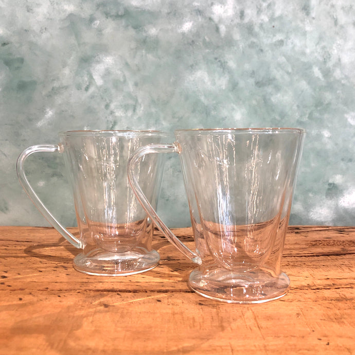 Avanti Hero Twin Wall Glass Mug Set - Coffea Coffee
