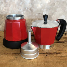 Load image into Gallery viewer, Cilio Electric Moka Coffee Maker Red, Coffee Maker - Coffea Coffee