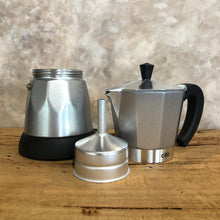 Load image into Gallery viewer, Cilio Electric Moka Coffee Maker Silver, Coffee Maker - Coffea Coffee