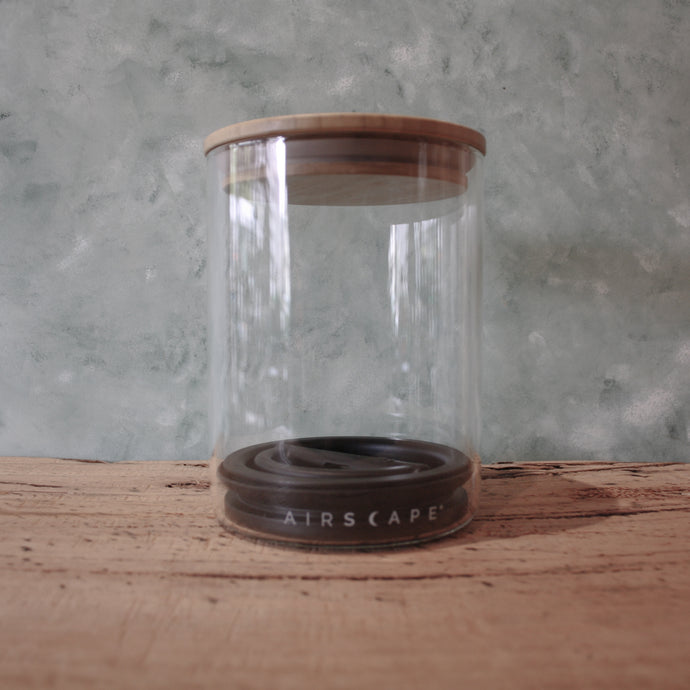 Airscape Glass Coffee Canister - Coffea Coffee