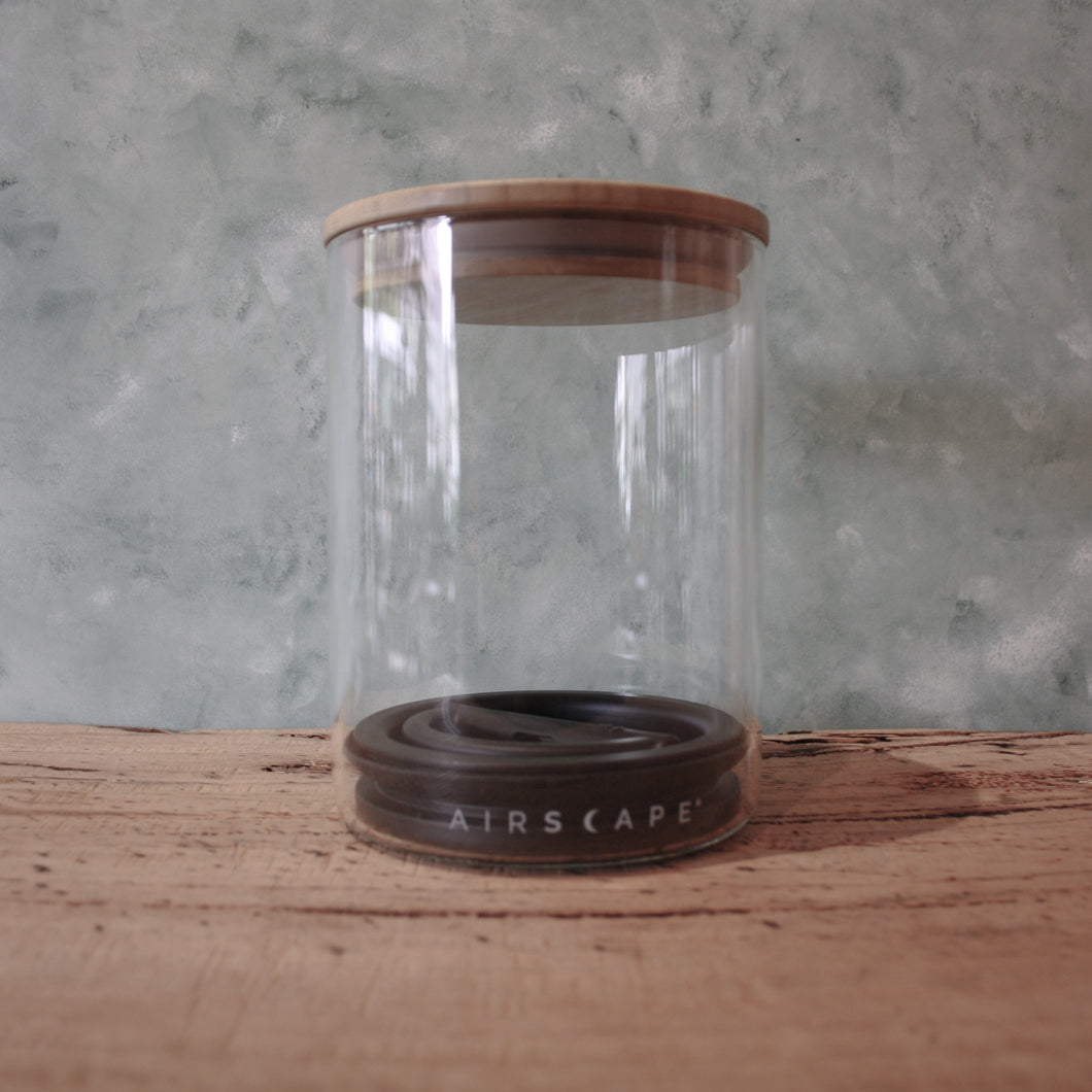 Airscape Glass Coffee Canister