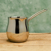 Load image into Gallery viewer, Turkish Coffee Pot in Stainless Steel - Coffea Coffee