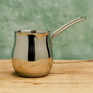 Turkish Coffee Pot in Stainless Steel - Coffea Coffee