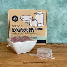 Load image into Gallery viewer, Ever Eco Reusable Silicone Food Covers - Coffea Coffee
