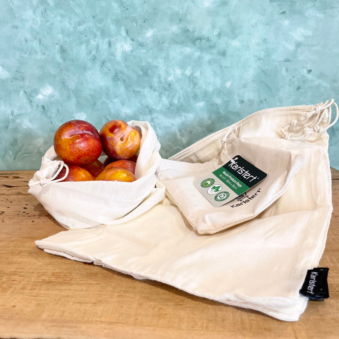 Cotton Produce Bags - Coffea Coffee