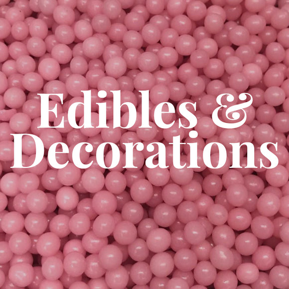 Edibles & Decorations