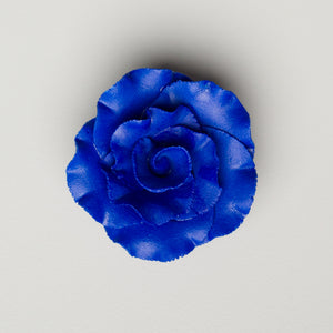 "2"" Formal Rose - Royal Blue (18 per box)"