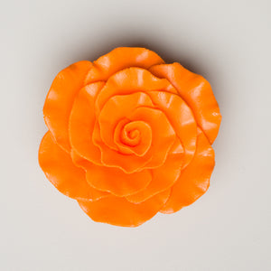 "3"" Formal Rose - Orange"