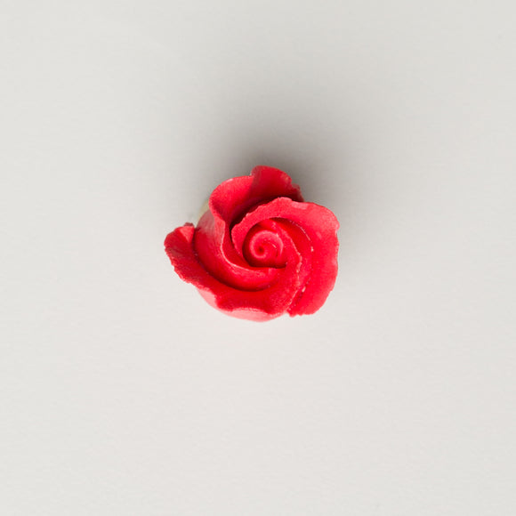 Rosebud -  Open -  Red