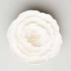 "4"" Briar Rose - White - Large (9 per box)"