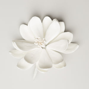 "3"" Lotus -  White (9 per box)"